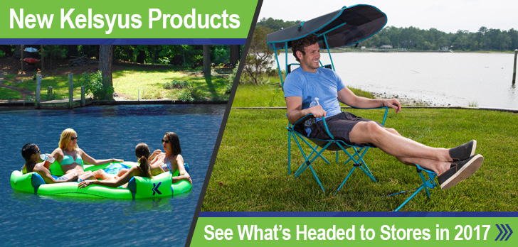 New Kelsyus Products - see what's heading to stores in 2017!