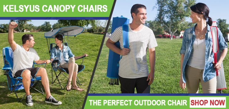 Kelsyus Canopy Chairs - the perfect outdoor chair - shop now