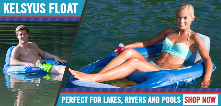 Kelsyus Float - Perfect for lakes, rivers and pools!