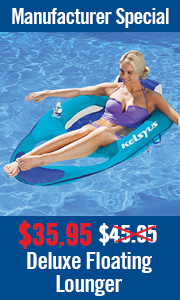 Manufacturer's Special: $10 Off Deluxe Floating Lounger
