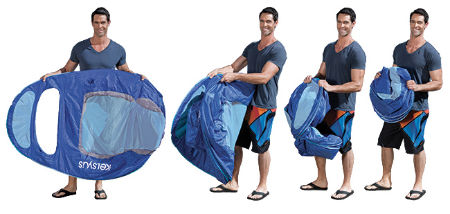 How to Fold a Kelsyus Floating Lounger