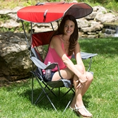 Premium Canopy Chair - Red