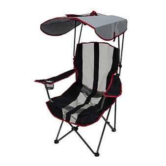 Original Canopy Chair - Red and Gray