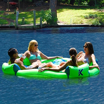 Big Nauti 4 Person Party Pool Float