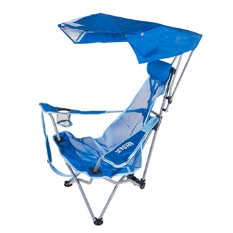Backpack Beach Canopy Chair - Blue