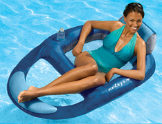 Kelsyus Float - Floating chairs, loungers, and coolers.