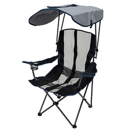 Original Canopy Chair - Navy and Gray  sc 1 st  Kelsyus.com! : kelsyus kids canopy chair - memphite.com