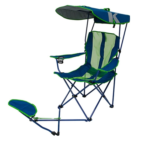 sc 1 st  Kelsyus.com! & Original Canopy Chair with Ottoman - Navy/Lime | Kelsyus