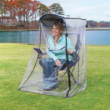 CAMP U003e Original Canopy Chair With Weather Shield